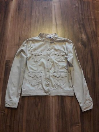 Куртка бежева на зріст 158 см