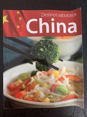 Livro receitas Destinos Saborosos China