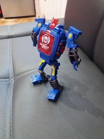 Іграшка трансформер -годинник