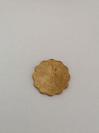 Paragwaj 25 centimos 1953r Lew - stan menniczy