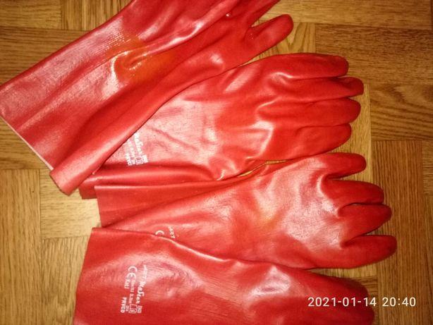 Резиновые перчатки рукавицы