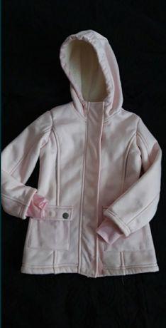 Różowa kurtka softshell 116
