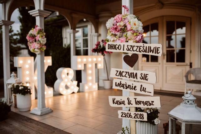 Podświetlane Inicjały na wesele Time4Fun Radom