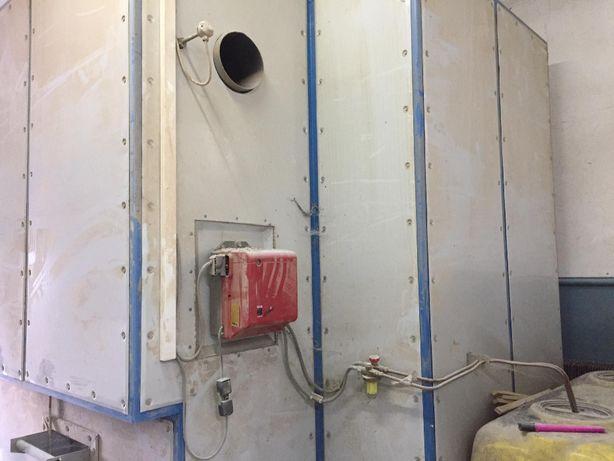 Piec olejowy Promal do utwardzania farb proszkowych o mocy 9 kW