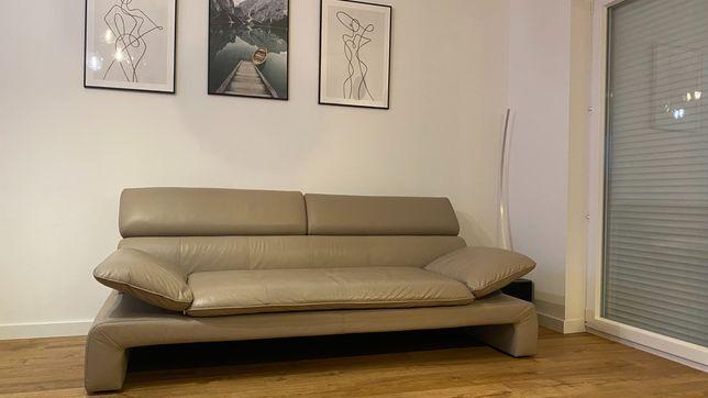 Skórzana kanapa / sofa w stanie idealnym