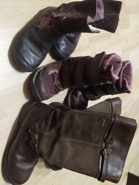 Сапожки, ботинки на девочку 5-7 лет