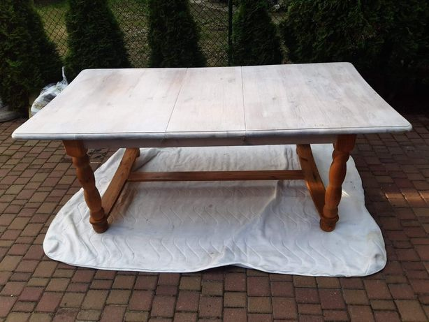 Stół sosnowy 160x105