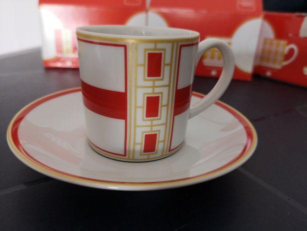 12 Chávenas de café vista alegre edição especial