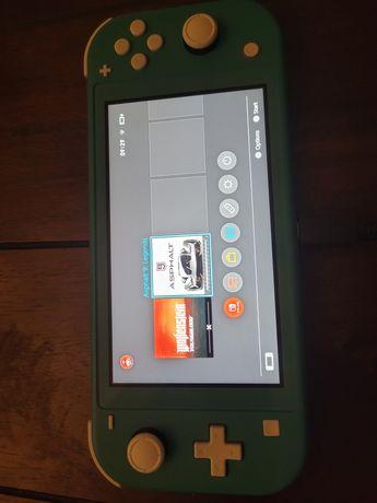 Nintendo switch lite +karta pamięci 64gb i gra immortals fenyx rising
