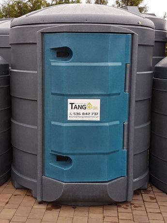 Zbiornik 2500 l dwupłaszczowy Tango Oil ECO