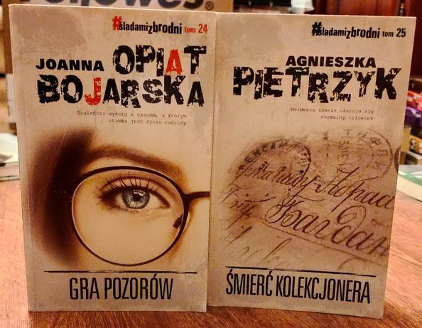 Bojarska Gra pozorów , Pietrzyk Śmierć kolekcjonera 2 szt