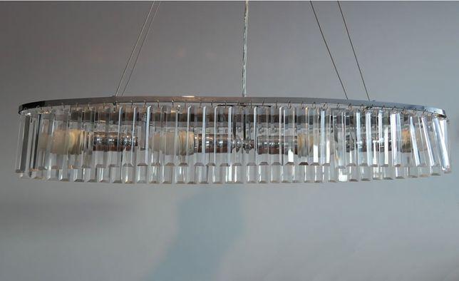 Kryształowa lampa wisząca Kastberga marki Markslojd