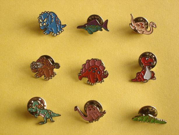 Pins deColeção Dinossauros
