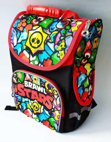 Каркасный рюкзак с ортопедической спинкой