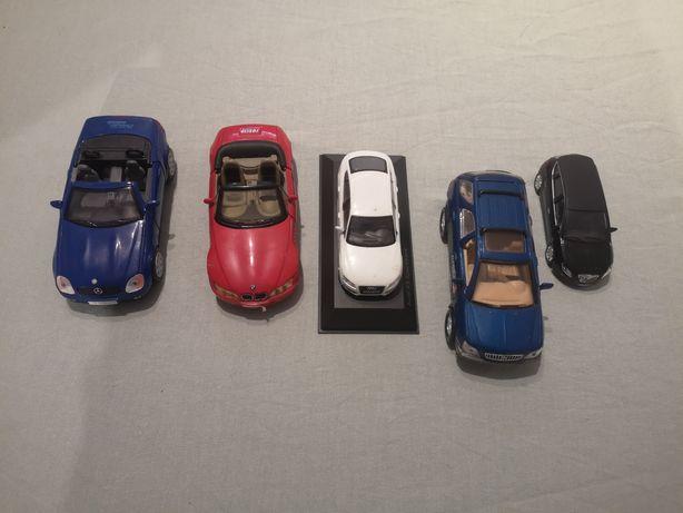 Miniaturas audi Mercedes BMW Lancia lexus