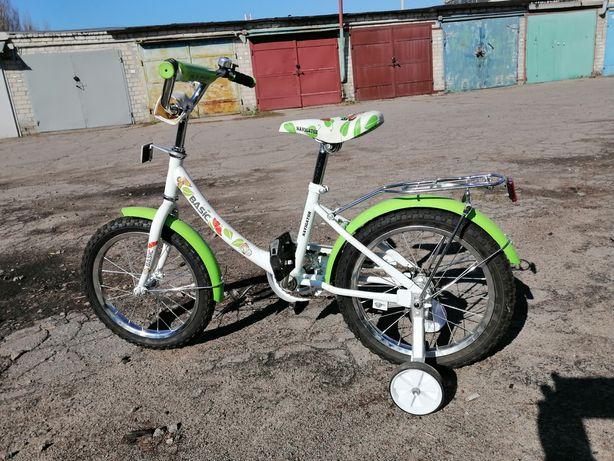 Детский велосипед Basic (новый).