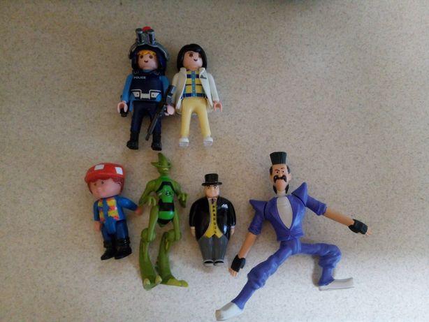 LEGO Playmobil i inne ludziki