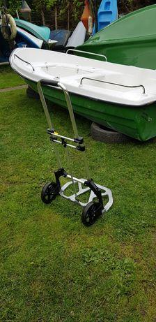 Wózek składany do przewozu akumulatora