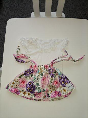 Komplet na specjalne okazje - sukienka Petit Pe Pe i body Gloria Mrofi