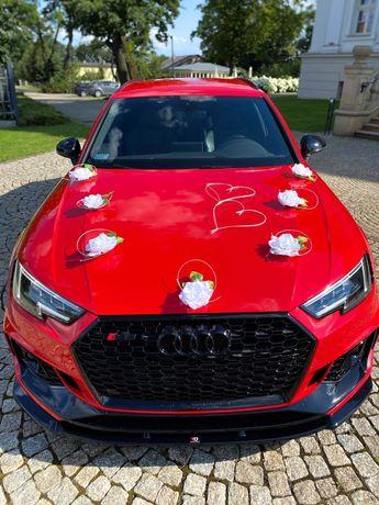 Wynajem auta do ślubu // AUDI RS4