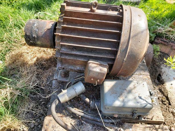 Silnik 10 KW z  włącznikiem