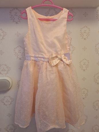 Piękna sukienka wizytowa dla dziewczynki COOL CLUB r.122