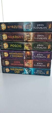 Drużyna - John Flanagan 6 tomów