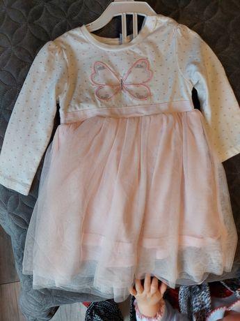 Sukienka z tiulem 74