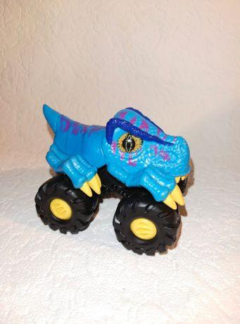 Инерционная машинка. Машина динозавр. Toy state. Monster trucks