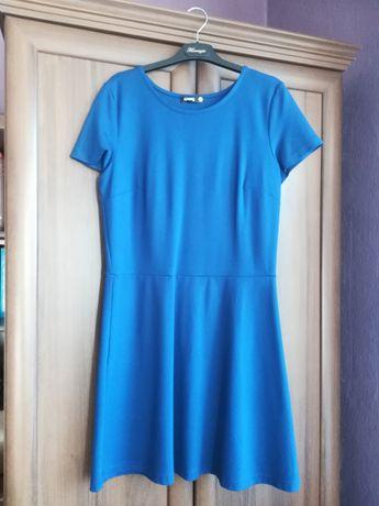 Niebieska sukienka - Sinsay