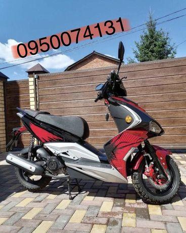 Продам скутер 125 кубів Meteor . Нова модель, стан нового.