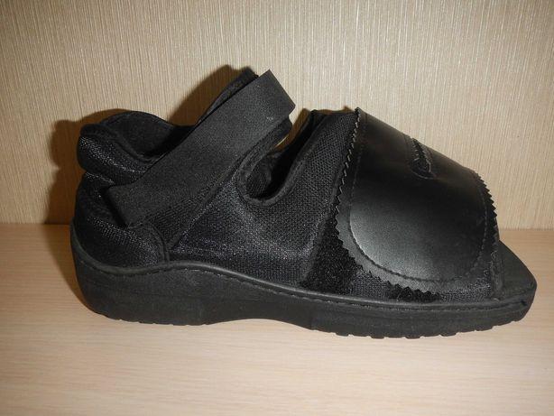 тапок на гипс послеоперационная обувь р.М \25см