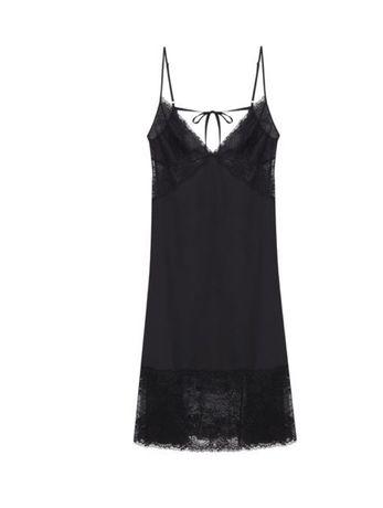 Шелковая ночная сорочка Women'secret, размер S; цена 750 грн