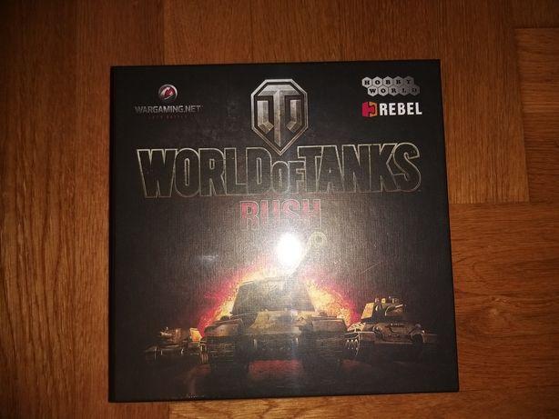 World of Tanks RUSH. Gra planszowa