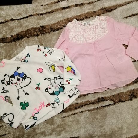 Кофта H&M блуза реглан толстовка свитшот Disney pusblu