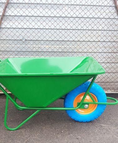 Тачка садово строительная одноколесная ТБ1 (колесо полиуретановое))