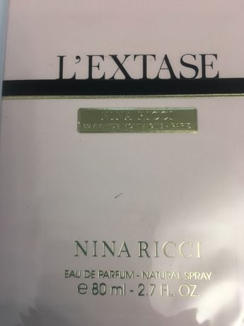 NINA RICCI L'Extase Оригинал