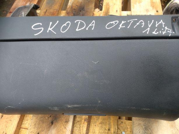 Schowek skoda octavia 1 lift