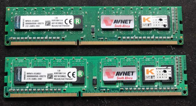 Оперативная память Kingston  DDR3 4-8GB
