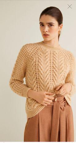 Теплый свитер MANGO кофта Zara
