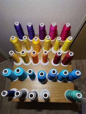 Linhas para máquina de bordar