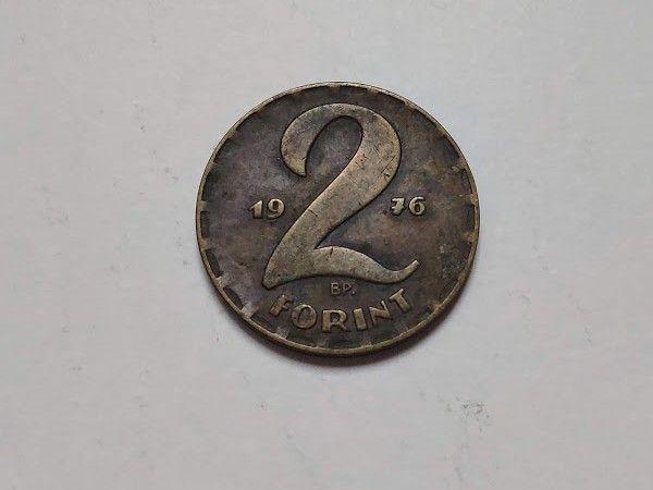 Монета 2 форинта 1976