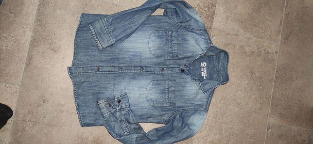 Koszula jeansowa 122