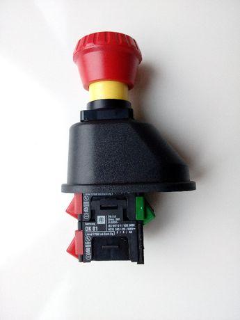 Wyłącznik awaryjny z osłoną, DH 11, DK 01, grzybek, CLAAS
