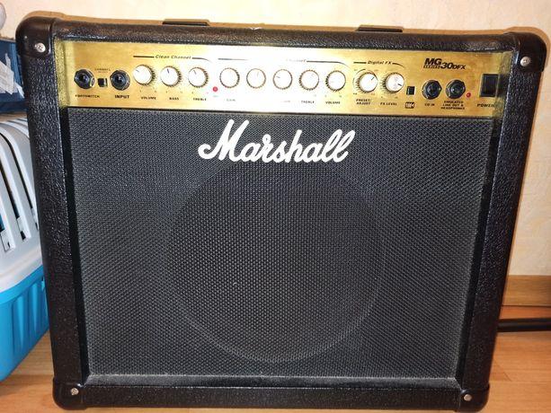 Гитарный комбоусилитель, комбик Marshall MG 30 DFX
