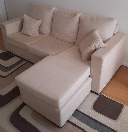 Sofa 3 lugares chaise long reversivel