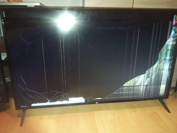 Tv led LG49UK6300MLB- uszkodzony