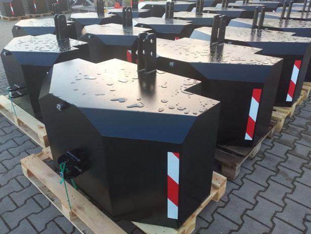 Balast obciążnik na TUZ 400, 600, 800, 1000, 1200, 1500, 1800, 2500 kg