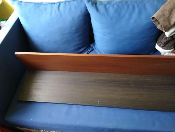 Solidna półka drewniana, wisząca