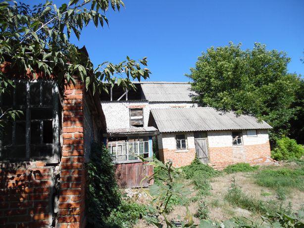 !Продам дом 4 комнаты 55м2 + на участке дом-недострой 100 м2 с.Бедряги